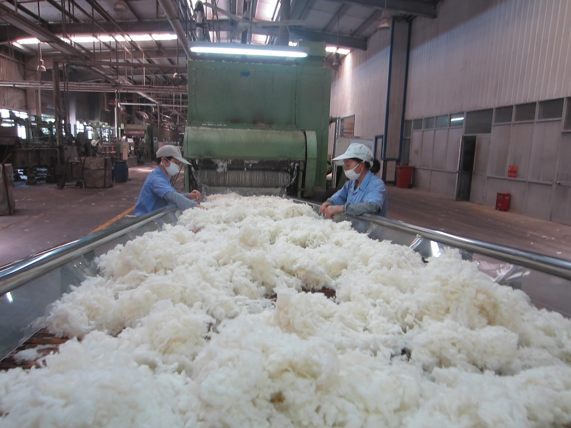 China lifts import quota on Australian wool by 5%