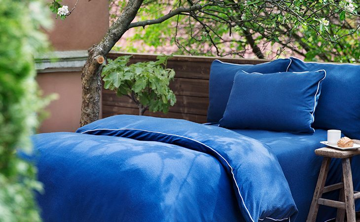 Duvet and pillow covers made from 100% Merino wool