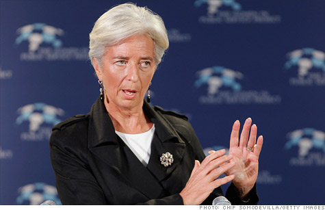 IMF's Lagarde: 'Recovery is still very fragile'